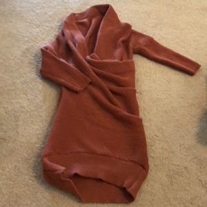 Dresses & Skirts - Slouchy sweater dress OS